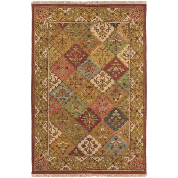 Hand-knotted Triumphant Wool Area Rug - 10' x 14'