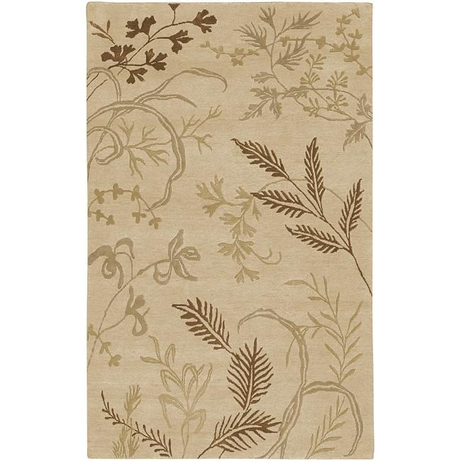 Hand-knotted Josephine Wool Area Rug - 9' x 13'