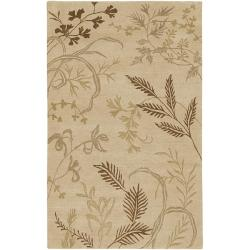 Hand-knotted Josephine Wool Area Rug - 9' x 13' - Thumbnail 0