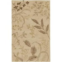 Hand-knotted Josephine Wool Area Rug (9' x 13')