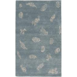 Hand-knotted Tamora Wool Area Rug - 9' x 13'