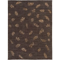 Hand-knotted Dorset Wool Area Rug - 8' x 11'