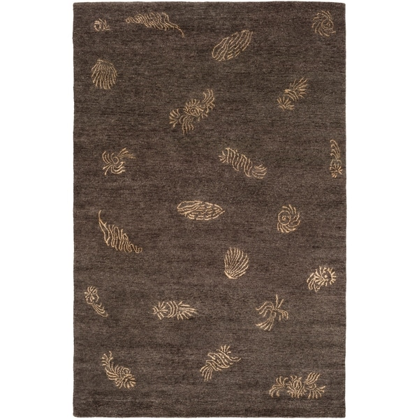 Hand-knotted Dorset Wool Area Rug - 9' x 13'