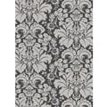 Admire Home Living Traditional Brilliance Damask Area Rug (5'5 x 7'7)