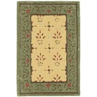 Safavieh Hand-hooked Easy Care Morocco Beige/ Red Rug - 2' x 3'