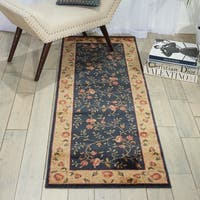 Nourison Somerset Navy Area Rug - 2' x 5'9""