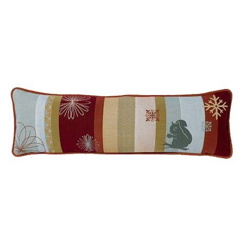 Corona Decor Modern Jacquard-woven Outdoor-design Decorative Pillow