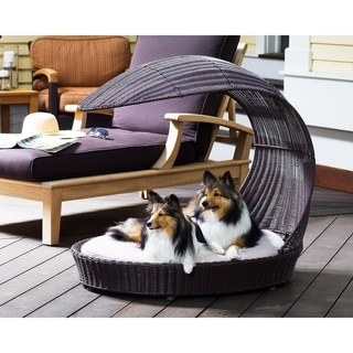 Link to The Refined Canine Outdoor Dog Chaise Lounger Similar Items in Dog Beds & Blankets