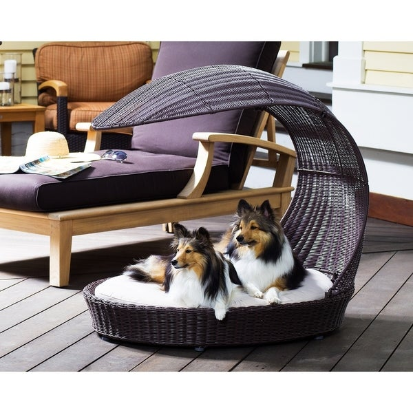 The Refined Canine Outdoor Dog Chaise Lounger. Opens flyout.