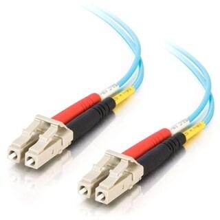 C2G 5m LC-LC 10Gb 50/125 Duplex Multimode OM3 Fiber Cable-TAA - 16ft