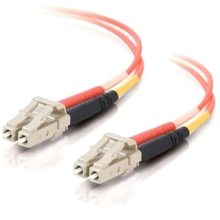 2m LC-LC 50/125 OM2 Duplex Multimode Fiber Optic Cable (TAA Compliant