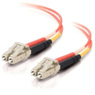 3m LC-LC 62.5/125 OM1 Duplex Multimode Fiber Optic Cable (TAA Complia