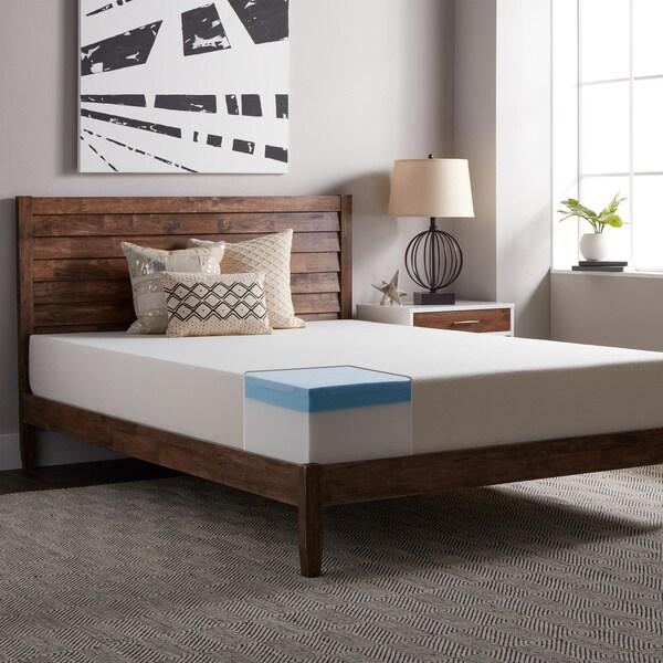 Select Luxury Gel Memory Foam 10-inch Twin-size Medium Firm Mattress