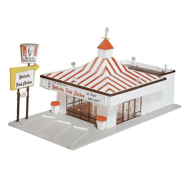 Walther lifelike ho scale kentucky fried chicken free for Model chicken set