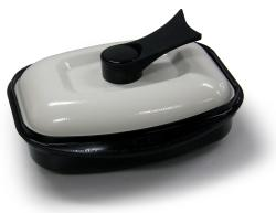 Microhearth G03BS2 Black Grill Pan for Microwave Cooking