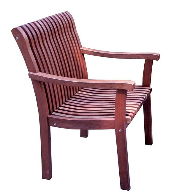 Venetian Eucalyptus Arm Chair