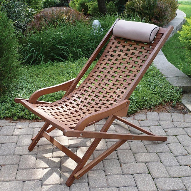 Eucalyptus Swing Lounger with Pillow