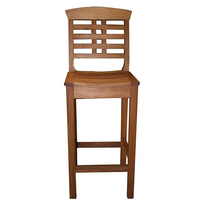 Eucalyptus High-back Pub Chair
