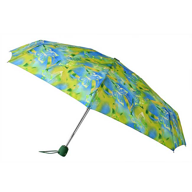 Leighton Umbrellas Butterfly Auto Compact Umbrella
