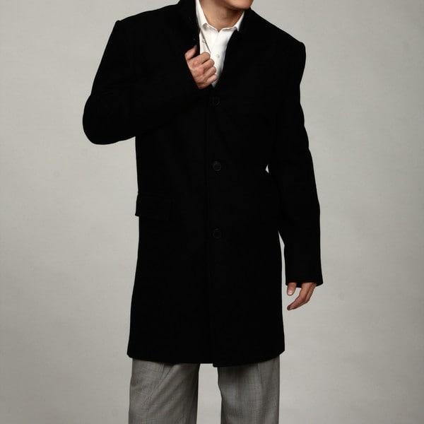 Kenneth Cole Men's Melton Button-up Coat FINAL SALE