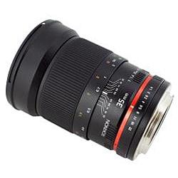 Rokinon 35mm f/1.4 Wide Angle Lens for Nikon Cameras