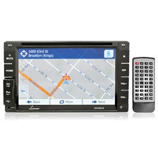 "Lanzar 6.5"" Double DIN In-Dash Touch TFT/LCD Monitor w/ DVD/MP4/SD/AM-FM/RDS/Bluetooth Dial Pad w/GPS/TTS"