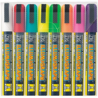 Zig Illumigraph Broad-tip Markers (Pack of 8)