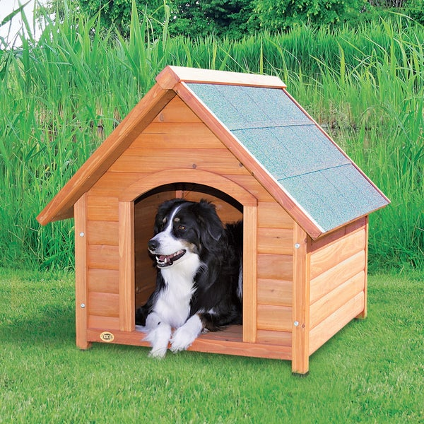 TRIXIE Medium Log Cabin Dog House