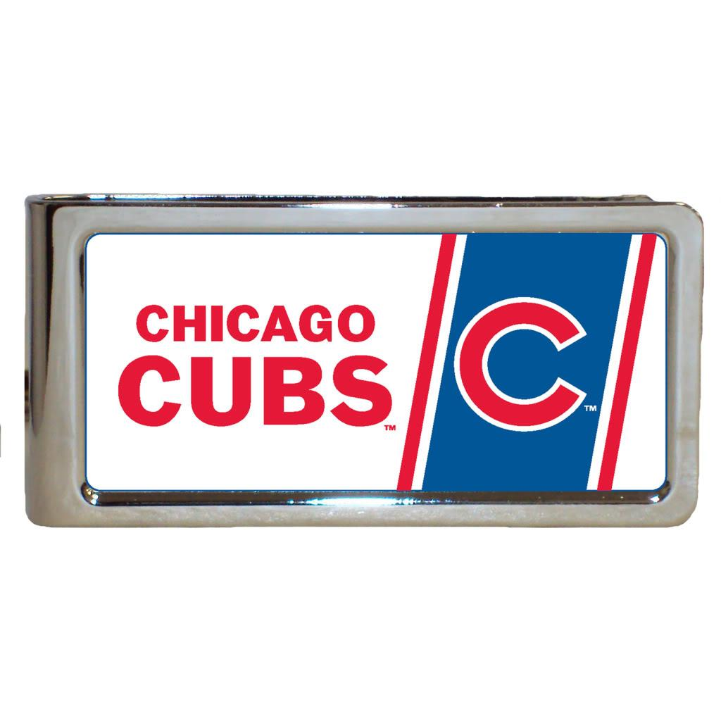 Chicago Cubs Stainless Steel Money Clip