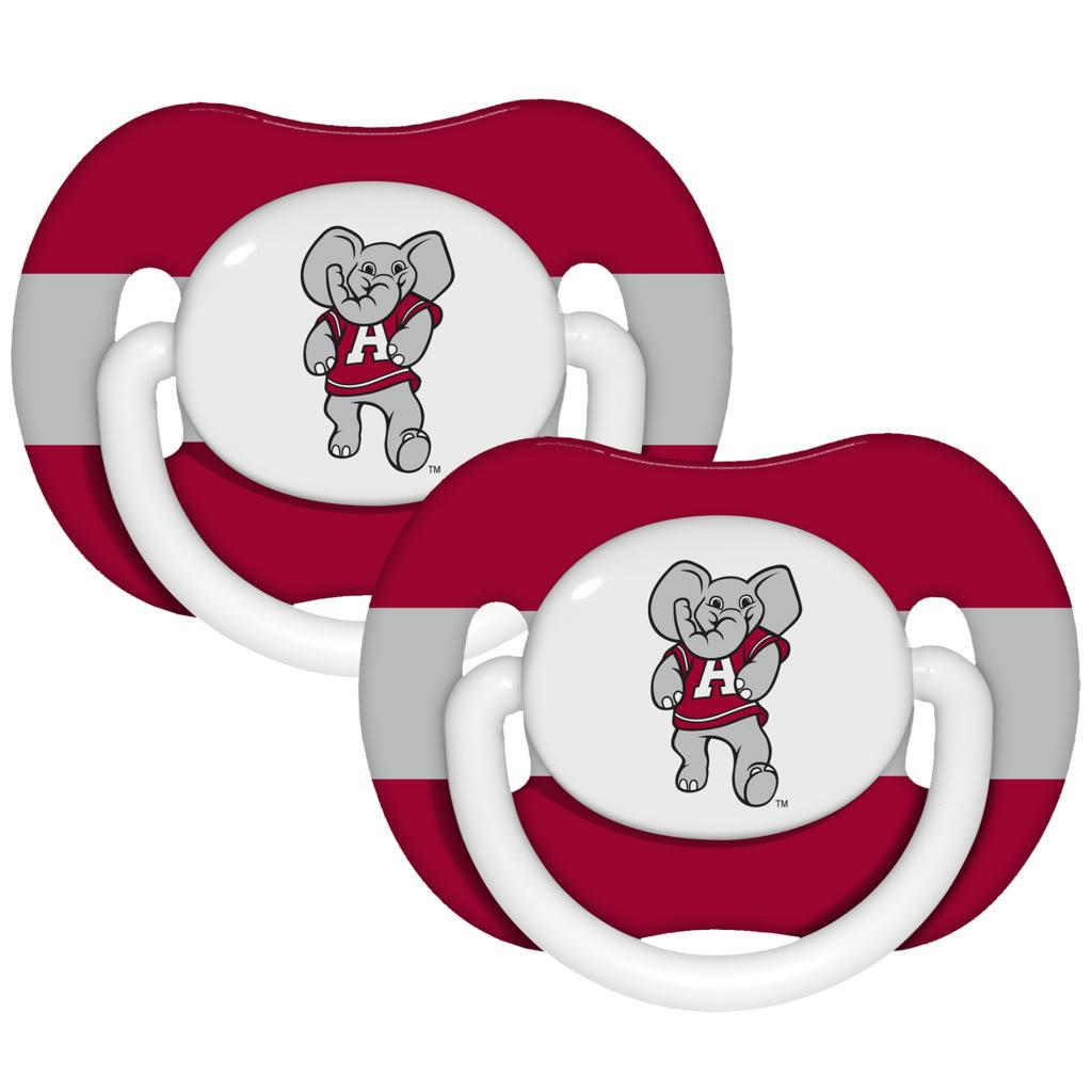 Alabama Crimson Tide Pacifiers (Pack of 2)