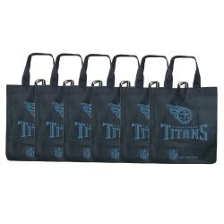 Tennessee Titans Reusable Bags (Pack of 6) - Thumbnail 0