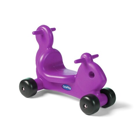 CarePlay Purple Squirrel Critter Ride-on