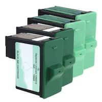 Refilled Insten Black Remanufactured Ink Cartridge Replacement for Lexmark 16/ 17
