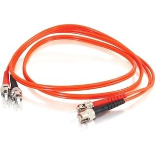 3m ST-ST 62.5/125 OM1 Duplex Multimode Fiber Optic Cable (TAA Complia