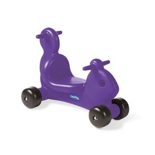 CarePlay Purple Puppy Ride-on Toy