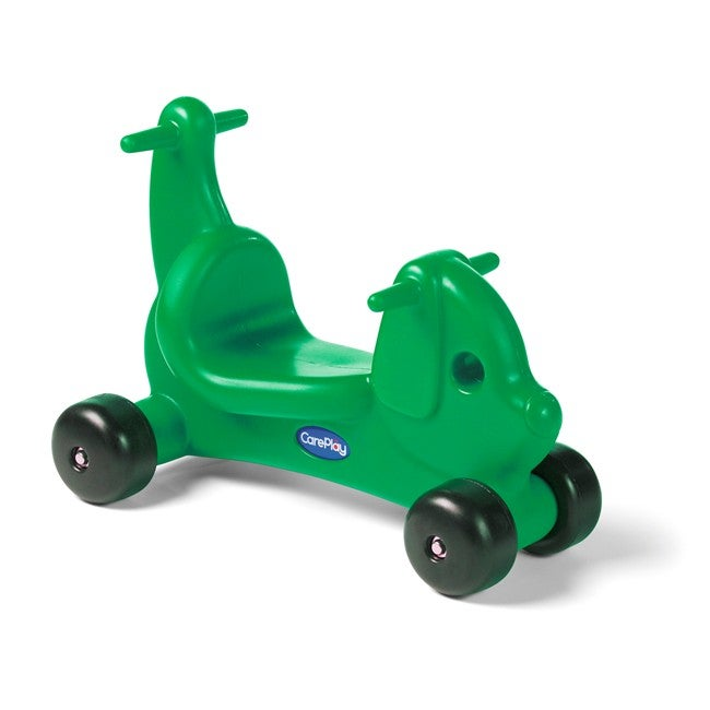 CarePlay Green Puppy Ride-on Toy