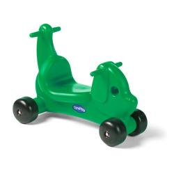 CarePlay Green Puppy Ride-on Toy - Thumbnail 0