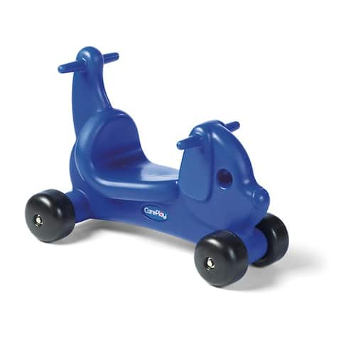 CarePlay Blue Puppy Ride-on Toy