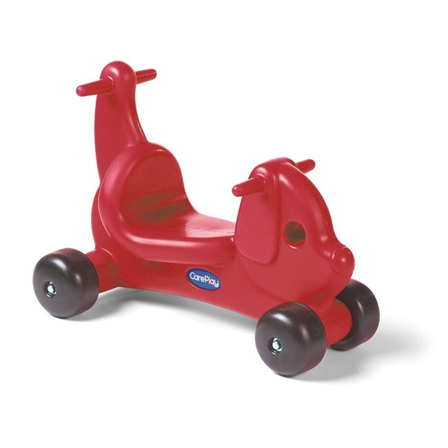 CarePlay Red Puppy Ride-on Toy