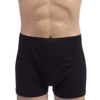 Kenyon Men's Black Polyester/Viscose Rapid-drying Outlast Boxer
