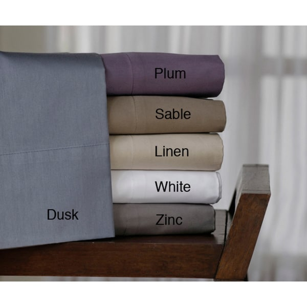 Cotton Compact Sateen 300 Thread Count Sheet Set