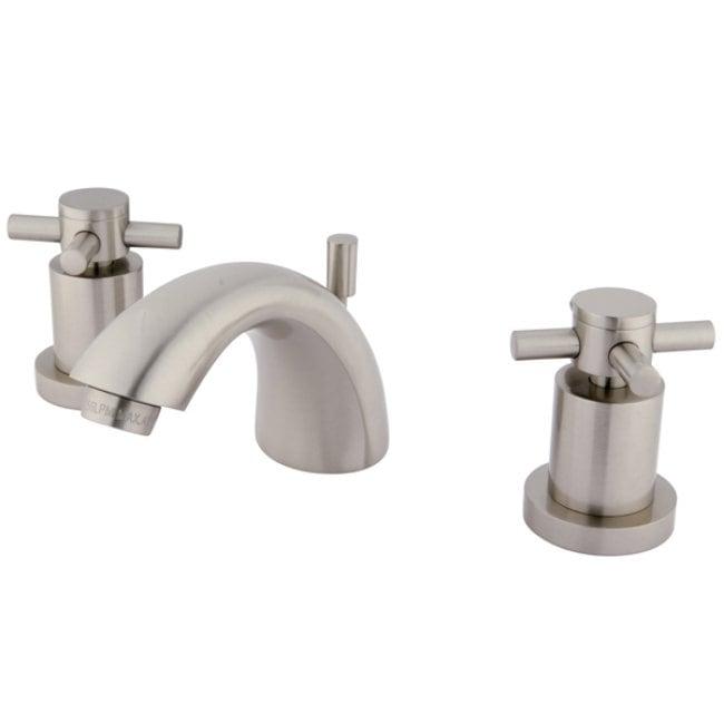 Concord Satin Nickel Mini-widespread Bathroom Faucet