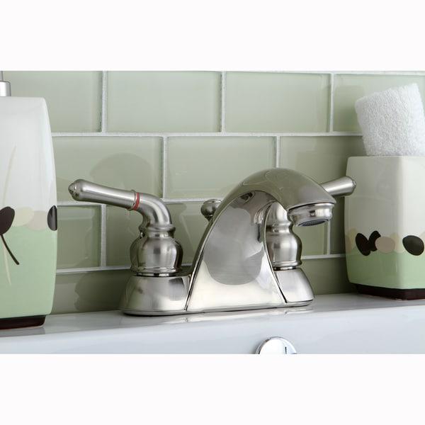 Naples Satin Nickel Bathroom Faucet