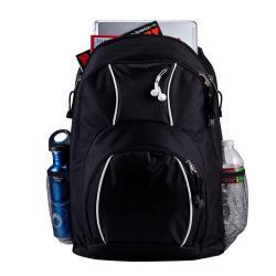 World Traveler Spiffy 17-inch Laptop Backpack - Thumbnail 2