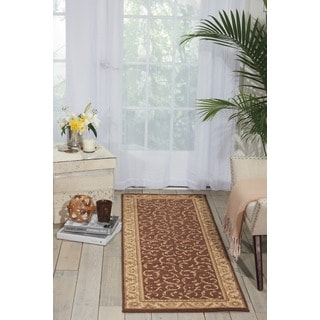 Nourison Somerset Brown Area Rug (2' x 5'9)