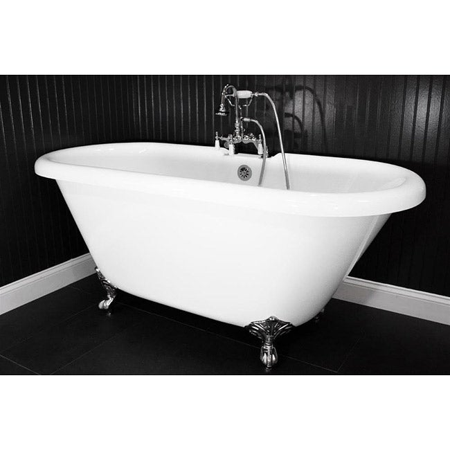 Baths of Distinction Spa Collection 59-inch Double-ended ...