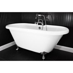 Petite White 60x36 In Soaker Tub Free Shipping Today