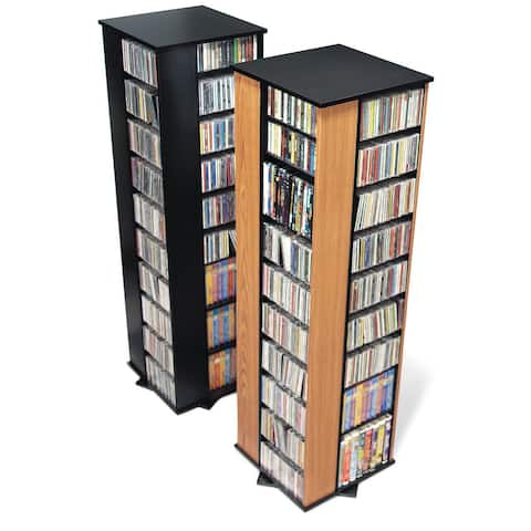 Large 4-sided Spinning Media Tower