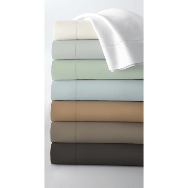Egyptian Cotton 800 Thread Count Extra Deep Pocket Sheet Set with Luxury-size Flat