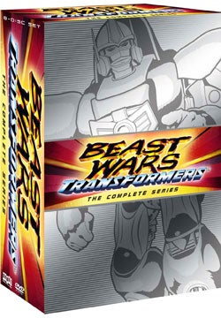 Beast Wars Transformers: The Complete Series (DVD)